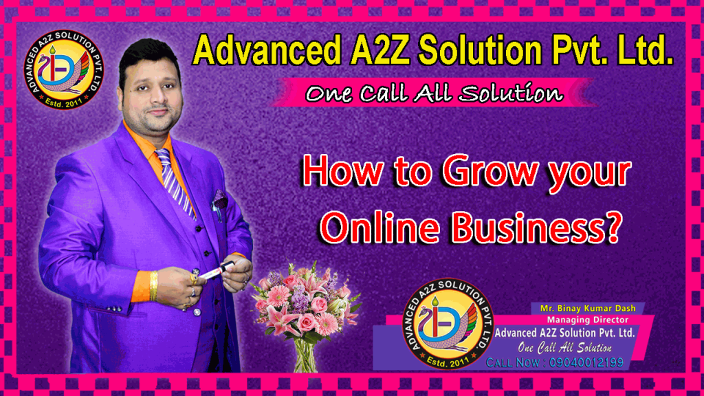 HOW TO GROW ONLINE BUSSINESS IMAGE